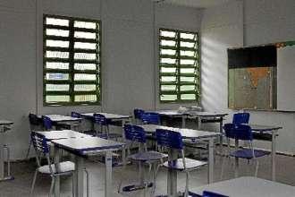 Escolas estão fechadas desde 11 de março, quando decreto do governador Ibaneis Rocha suspendeu as aulas devido ao novo coronavírus -  (foto: Ana Rayssa/Esp. CB)