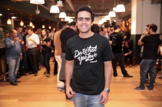 Lucas Mendes, diretor geral de uma rede coworking