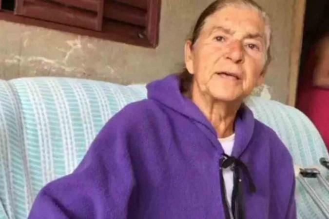 Maria Firmino, 79 anos, faleceu na madrugada nesta quarta-feira (12/8) -  (foto: TV Brasília/Reprodução)