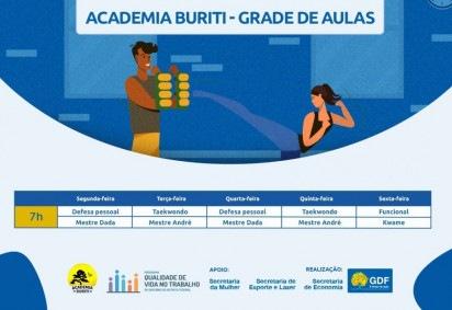Academia Buriti oferece atividades físicas on-line  -  (foto: divulgação )