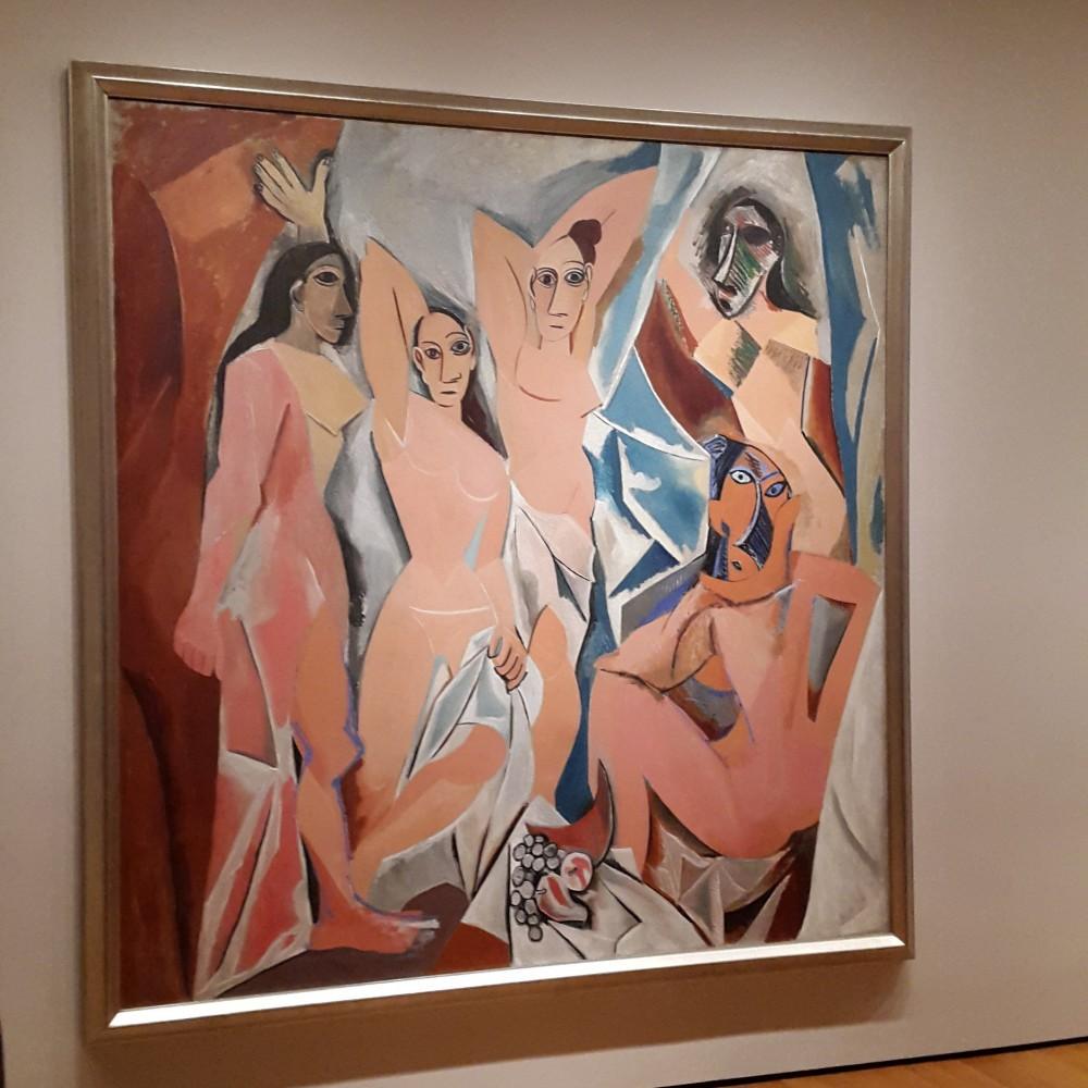 Quadro Les Demoiselles d'Avignon