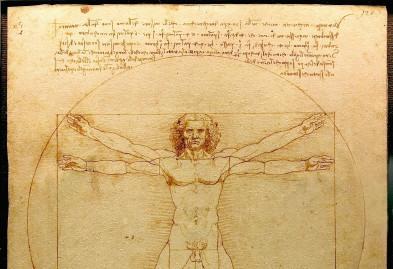 Desenho Homem Vitruviano