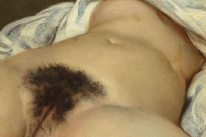Pintura A Origem do Mundo de Gustave Courbet