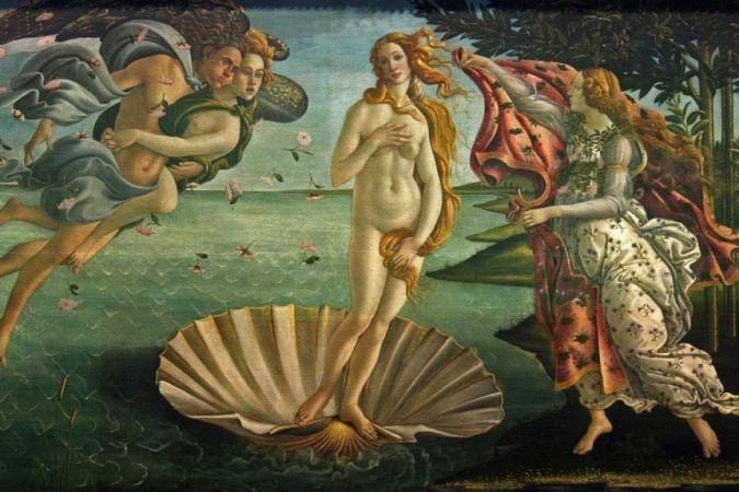 O nascimento de Vênus seria uma das obras proibidas -  (foto: Frans Vanderwalle/CB/D.A Press)
