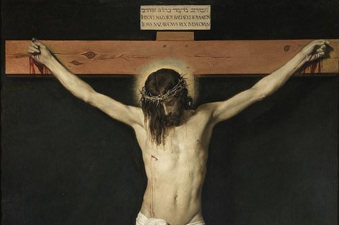 Quadro Cristo Crucificado de Diego Velásquez