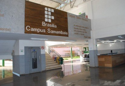 Inscrições para o curso educação profissional e tecnológica no câmpus Samambaia vão até 13 deste mês -  (crédito: Douglas Villaça )