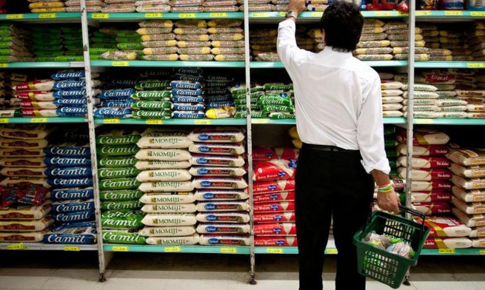 Bolsonaro diz que não vai interferir no mercado para baixar preços do arroz e do óleo