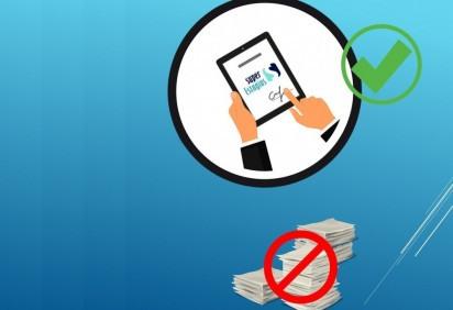 Super Estágios cria campanha para incentivar que empresas implementem as assinaturas digitais -  (crédito: Super Estágios/Divulgação)
