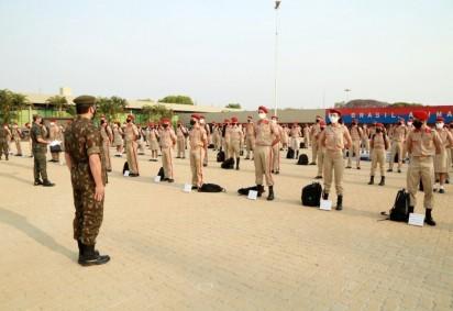 Colégio Militar de Brasília retorna às aulas nesta segunda -  (crédito: Cine Foto)