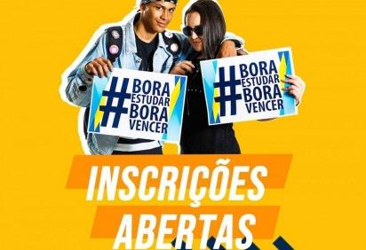 Cursinho beneficente Bora Vencer está com inscrições abertas para preparatório à distância para o Enem -  (crédito: Reprodução / Facebook)