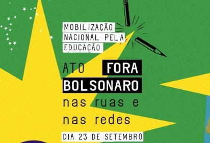 Entidades estudantis convocam ato para esta quarta-feira (23/9) -  (crédito: Twitter / Reprodução)