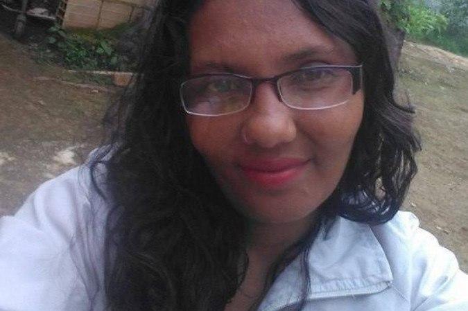 Rubia Alves Ferreira teve o rosto desfigurado -  (crédito: Material cedido ao Correio)