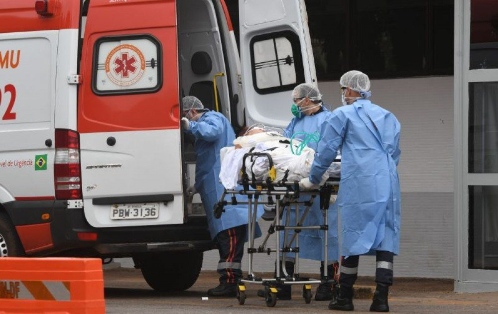 According to the Secretariat of Health bulletin, 3,203 people were victims of the covid-19