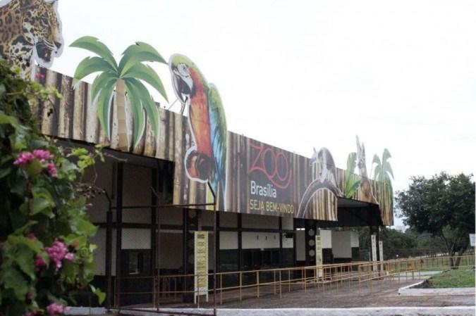 Entrada do Zoológico de Brasília