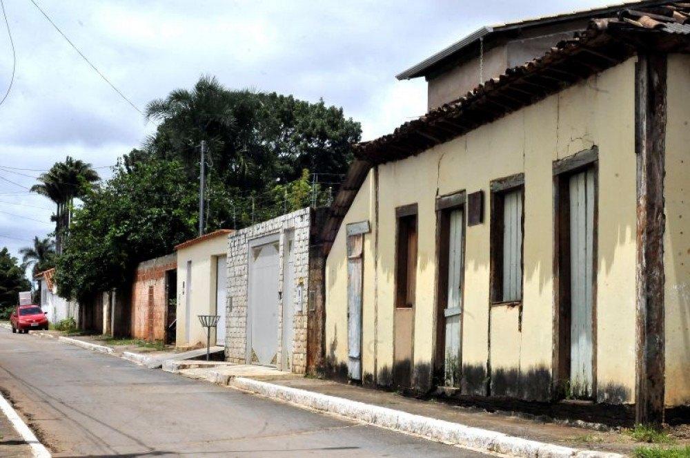 A Casa da Dona Negrinha sofria com ação do tempo e da falta de manutenção