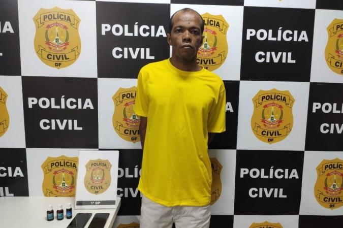 O acusado pode ter feito outras vítimas e a polícia pede que denúncias sejam feitas em caso de reconhecimento do autor - (crédito: PCDF/Divulgação)