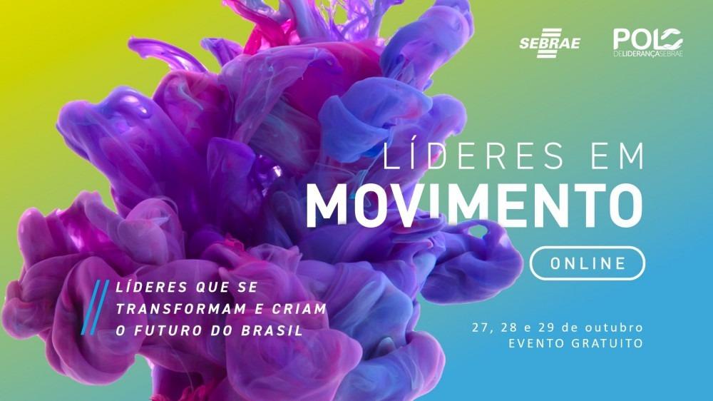 Líderes em Movimento: Sebrae promove evento on-line sobre liderança
