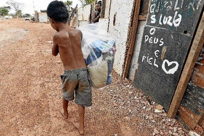 Mais de 10,3 milhões de brasileiros vivem em situação de insegurança alimentar grave