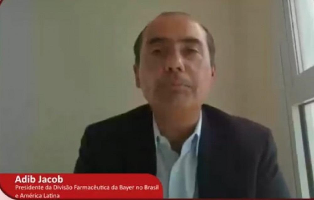 Adib Jacob, presidente da Divisão Farmacêutica da Bayer no Brasil e América Latina