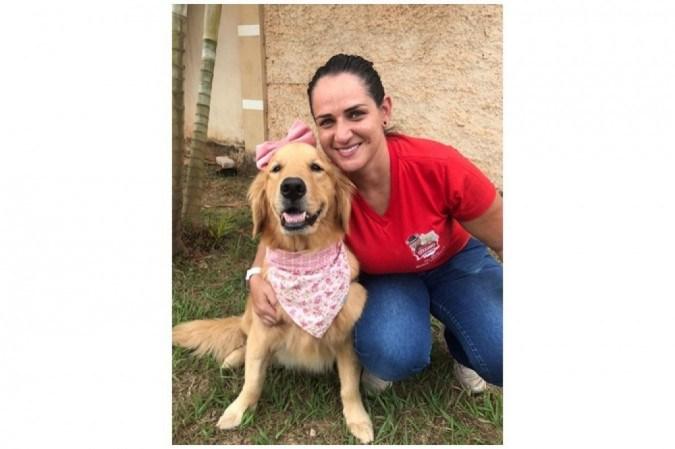 A médica veterinária Élida Patricia Cunha Ribeiro acompanha Malu desde pequena e ficou surpresa com o diagnóstico de espirocercose