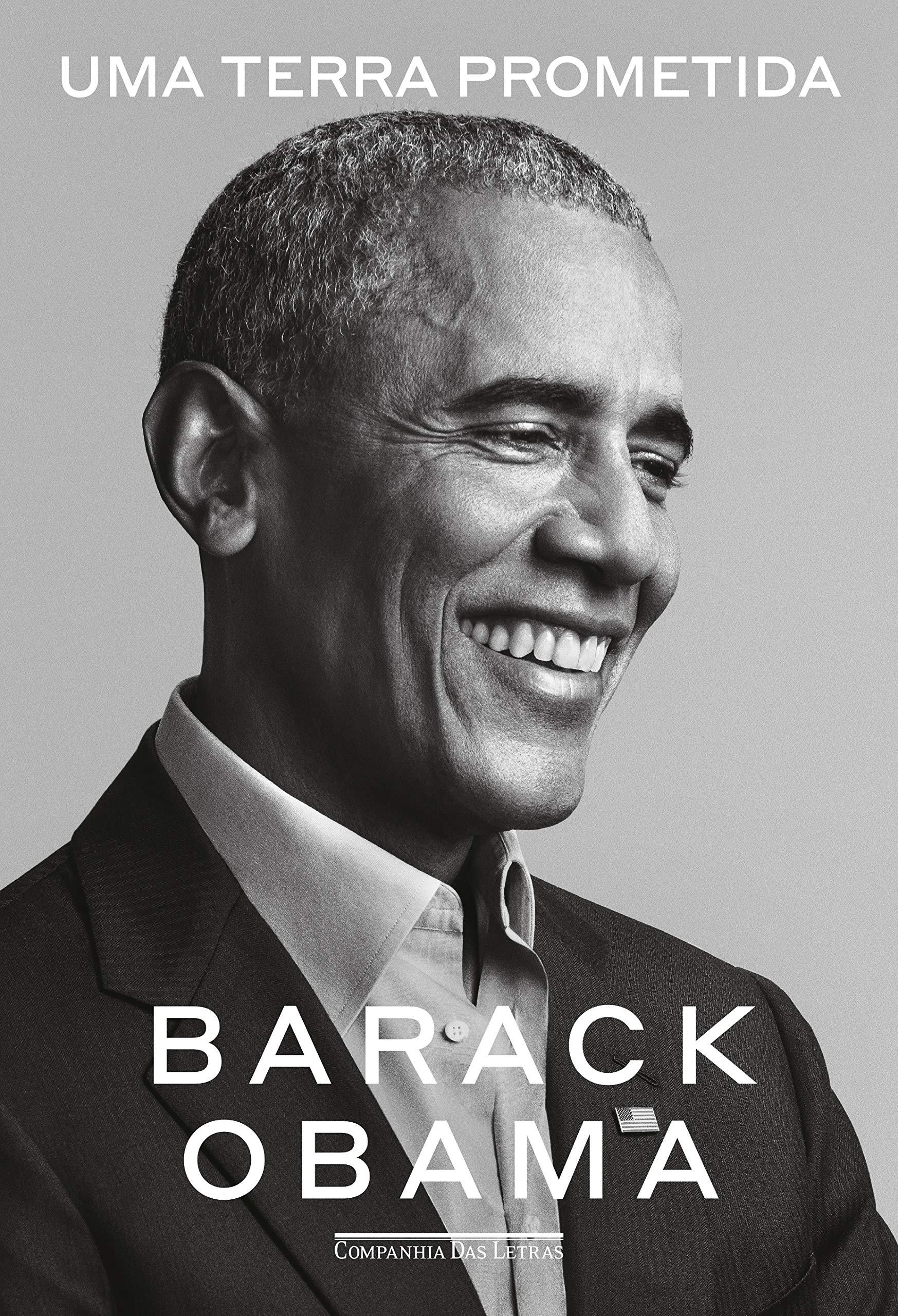 Capa do livro 'Uma terra prometida' do ex-presidente Barack Obama