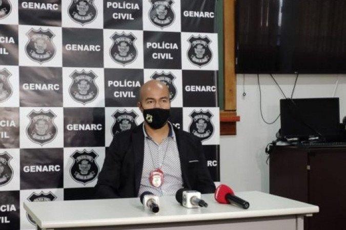 A investigação foi conduzida pelo delegado Danilo Meneses - (crédito: Divulgação/PCGO)