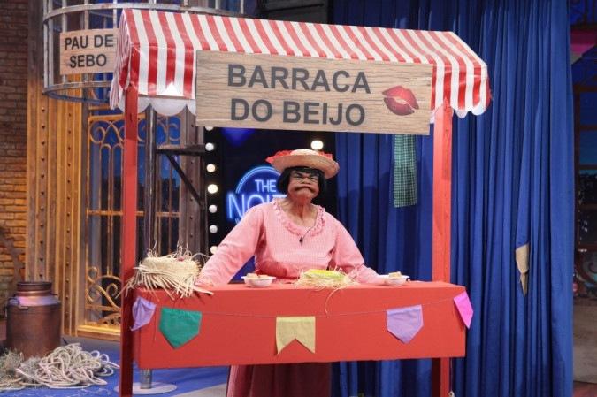 Humorista Rodela no SBT