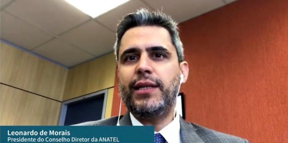 Presidente da Agência Nacional de Telecomunicações (Anatel), Leonardo Euler de Morais