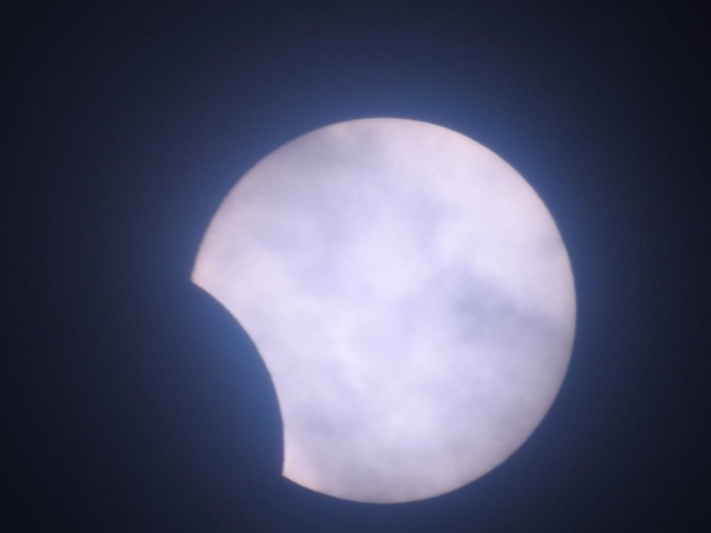 Eclipse solar en el Distrito Federal