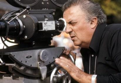 Fellini no set do filme
