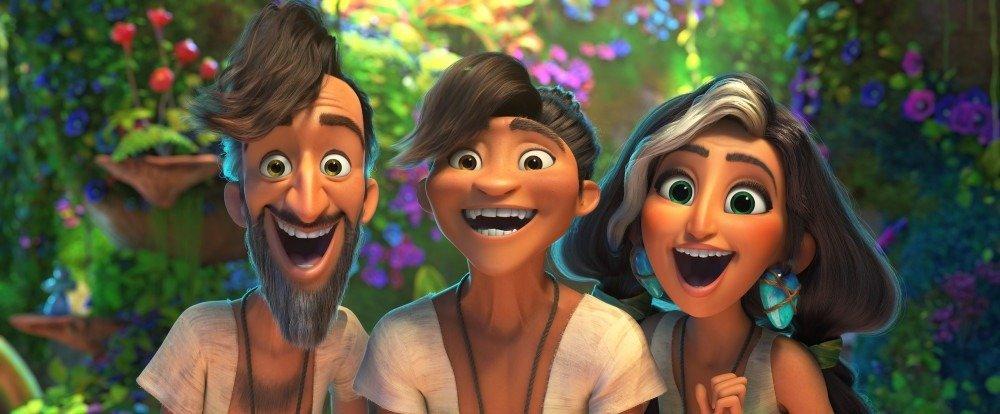 """Sequência do sucesso """"Os Croods"""" mostra a família Croods encontrando um novo grupo, com costumes mais modernos"""