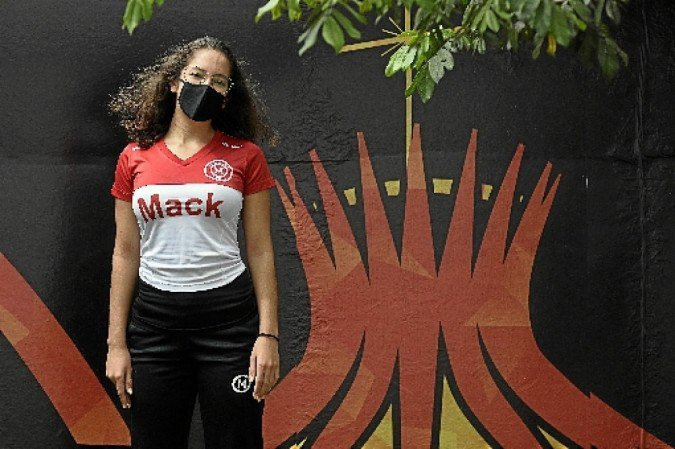 Ana Clara, de 15 anos, escolheu a modalidade quando ainda era criança
