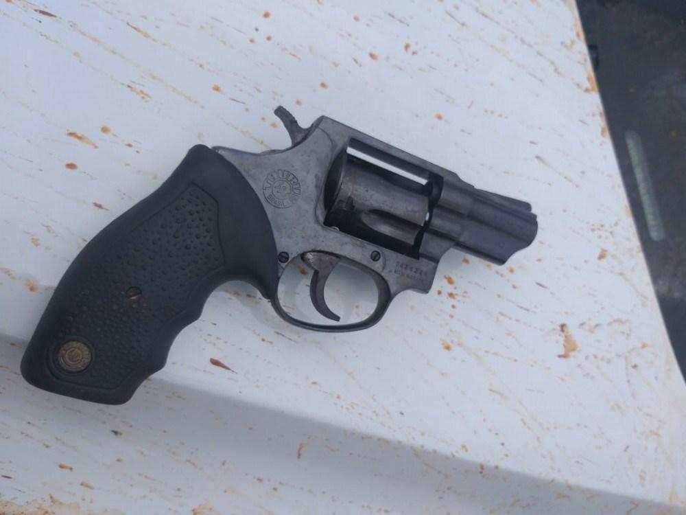Arma usada por Geovane Geraldo Mendes da Cunha para matar a professora aposentada Marley de Barcelos Dias