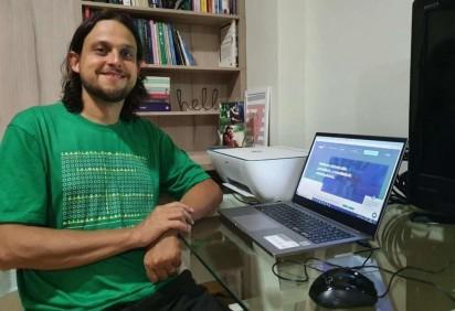Paulo Luiz, professor de matemática do Sigma, reforça a importância de se aprender com os erros -  (crédito: Arquivo Pessoal)