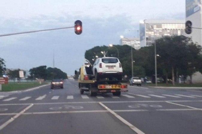 O atentado aconteceu na madrugada de novembro de 2020 - (crédito: PMDF/Divulgação)