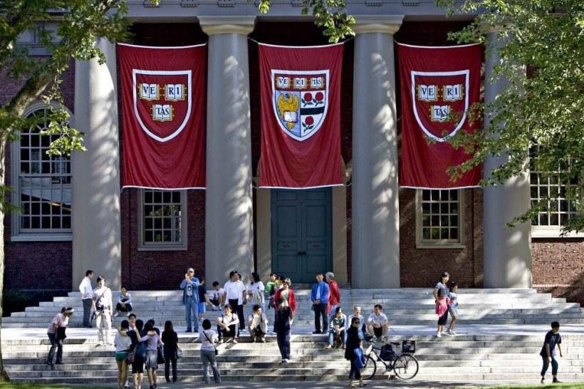 A Universidade Harvard é a com melhor desempenho do ranking
