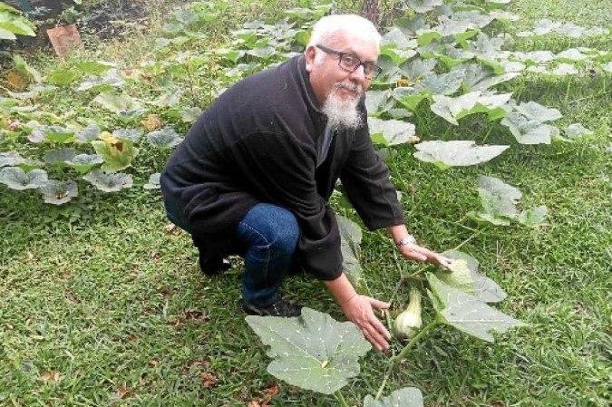Victor Manuel idealizou o projeto Coma Seu Jardim e pretende ampliá-lo para outras regiões