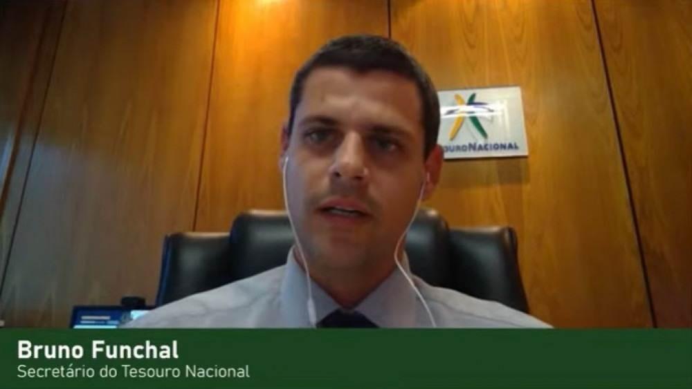 Secretário especial do Tesouro Nacional, Bruno Funchal participa do debate sobre os 'Desafios para o Brasil pós-pandemia' no Correio Talks