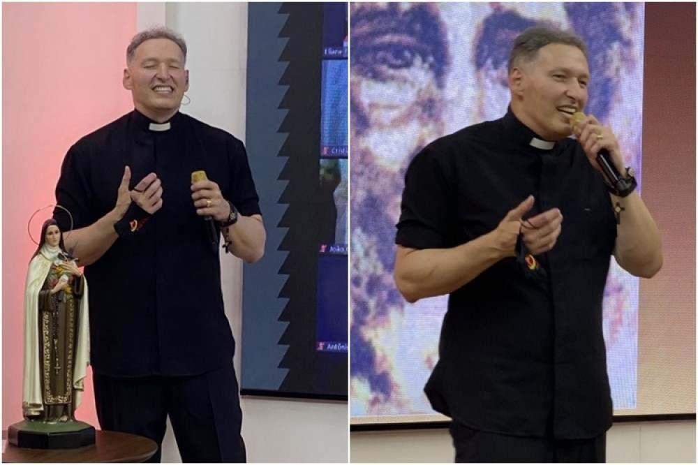"""Shape sagrado? Padre Marcelo aparece """"fortinho"""" e internautas disparam memes"""