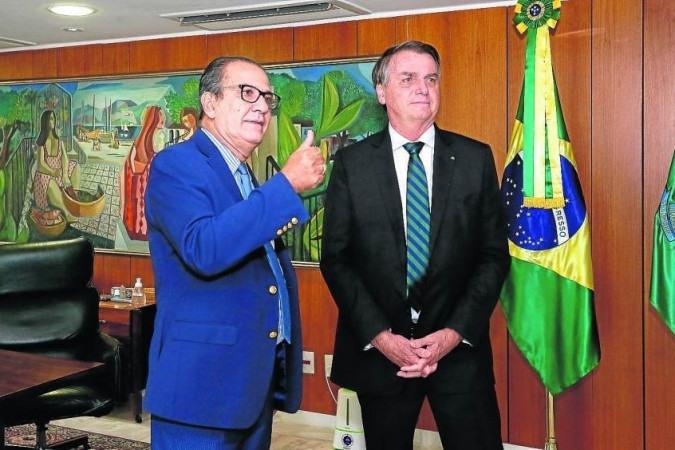 Encontro com Pastor Silas Malafaia, Presidente do Conselho Interdenominacional de Ministros Evangélicos do Brasil (CIMEB) -  (crédito: ISAC NOBREGA)