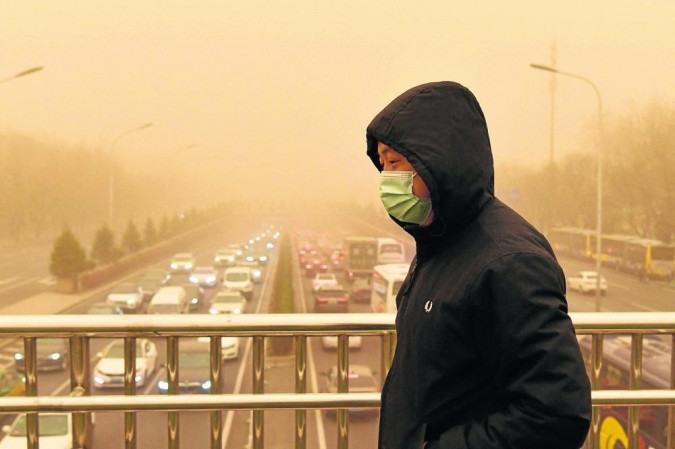 Poluição do ar compromete função cognitiva de homens mais velhos