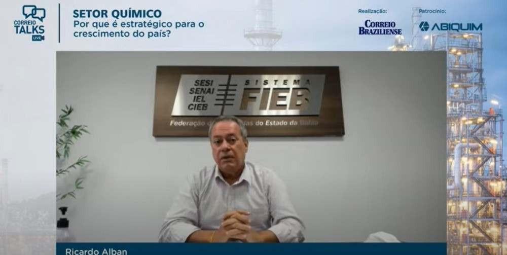 Presidente da Fieb, Ricardo Alban