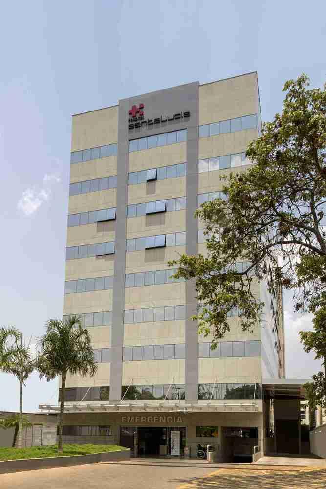 Fachada Hospital Santa Lucia - Gama