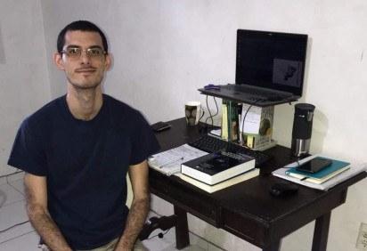 Rodney Fonseca já tem título de doutor em estatística pela Universidade Estadual de Campinas (Unicamp) -  (crédito: Arquivo pessoal)