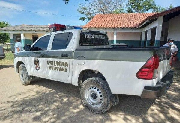 A operação contou com o apoio da polícia boliviana