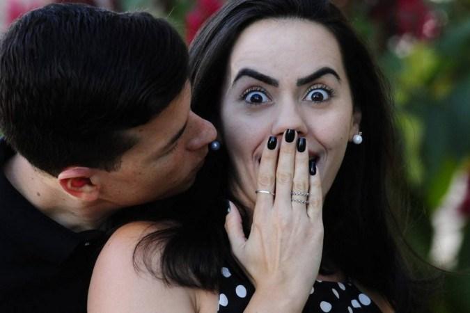 Larissa Karkour e Fábio Schult procuram inovar a cada Dia dos Namorados