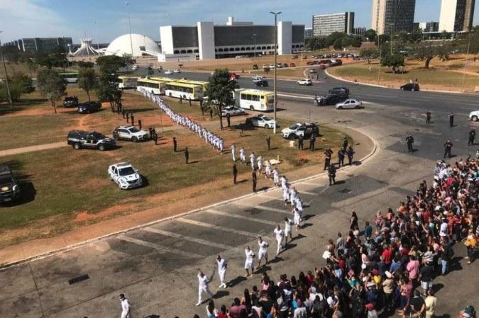 Mais de 2 mil presos da Papuda e do Centro de Progressão Penitenciária (CPP) serão liberados para o saidão -  (crédito: Divulgação / Seape)