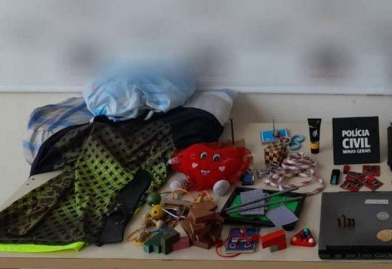 Suspeito usava brinquedos para atrair crianças e cometer os crimes