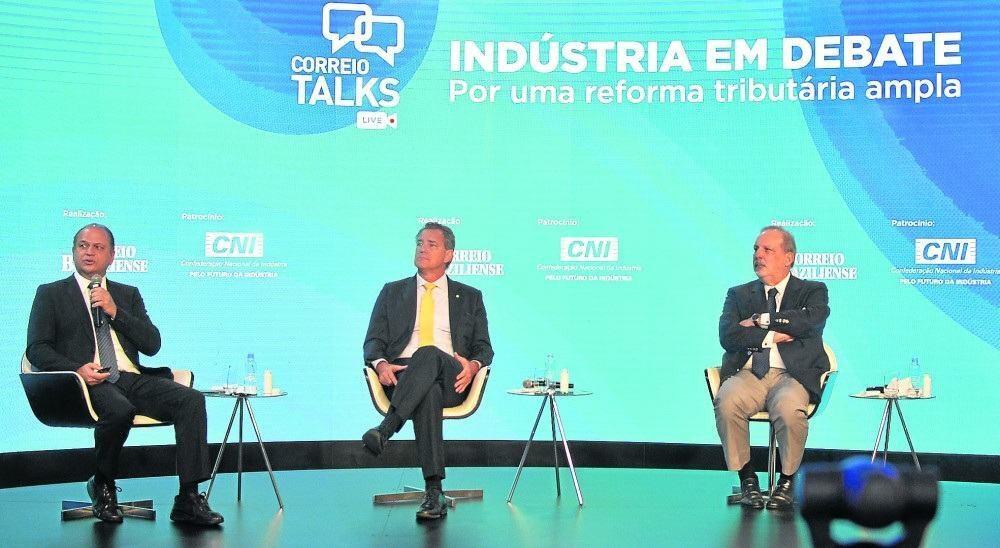Participantes do Correio Talks: desafio da reforma tributária é encontrar modelo que permita ao país romper o ciclo de baixo crescimento econômico