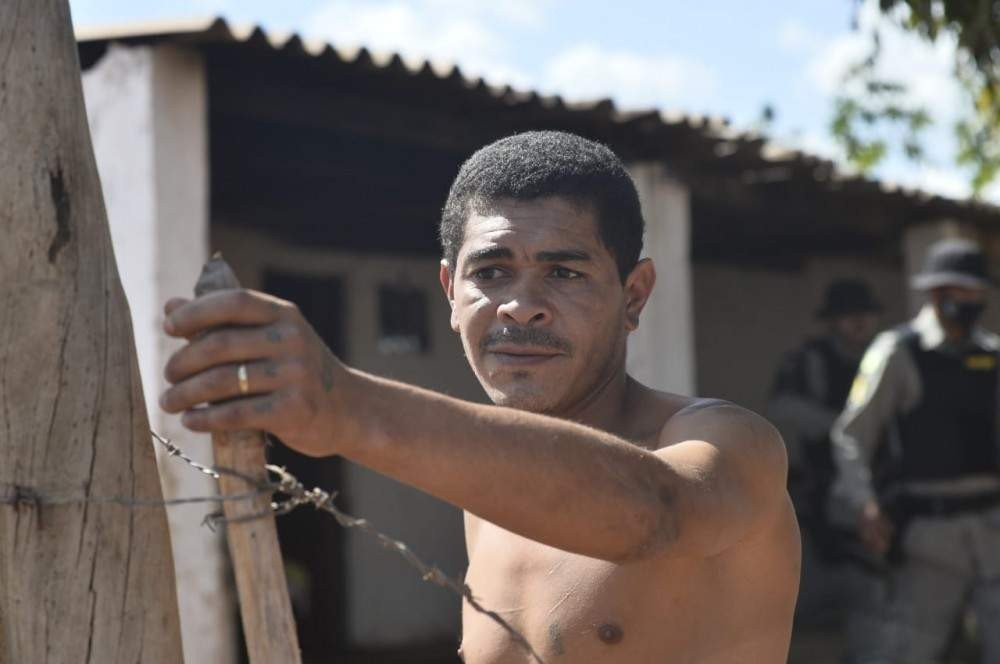 Josenilton Conceição, morador do local, chamou a polícia para averiguar o caso.